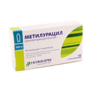 Суппозитории Метилурацил