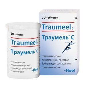 Таблетки Траумель при геморрое
