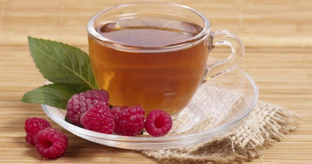 Чай из листьев малины от геморроя
