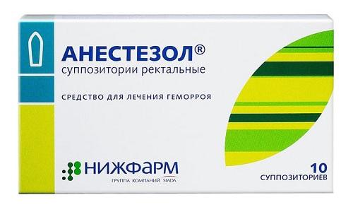 Анестезол снимает боль, сужает сосуды, устраняет воспаление, защищает повреждённые участки