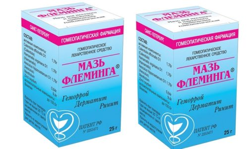 Мазь Флеминга – поликомпонентное гомеопатическое лекарственное средство локального действия