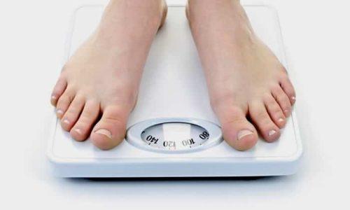 При раке человек теряет в весе