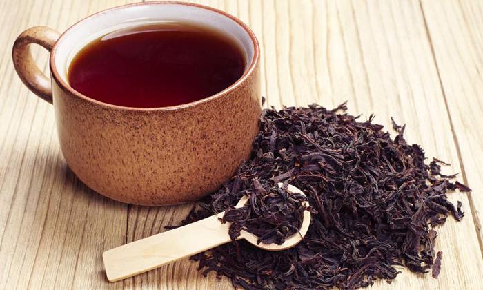 В обед можно выпить некрепкий чай