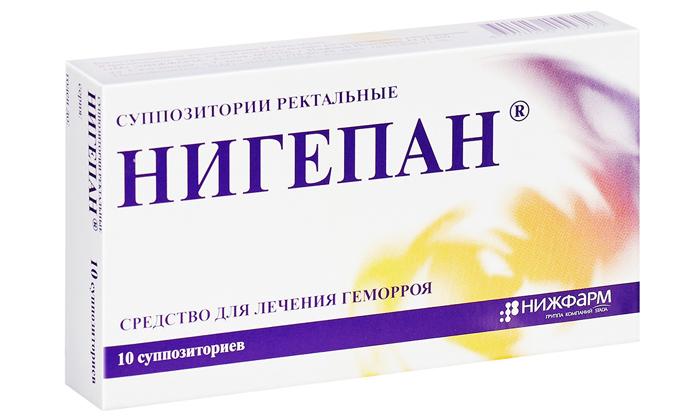 Применение свечей Нигепан при геморрое: обзор препарата, отзывы пациентов