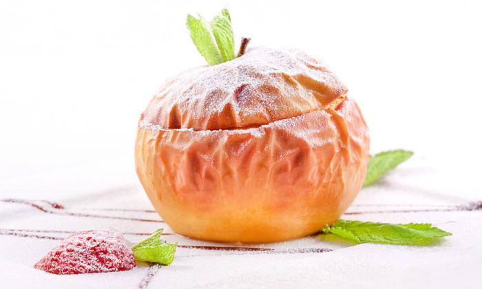 Разрешены к употреблению печеные яблоки