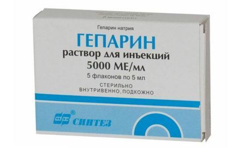 Благодаря гепарину улучшается кровоток и обмен веществ прианальных и анальных тканях