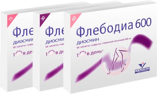 Флебодиа при геморрое представляет собой известное лекарственное средство из группы венотонизирующих препаратов