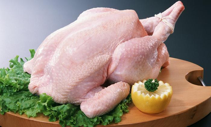 Разрешена к употреблению курица