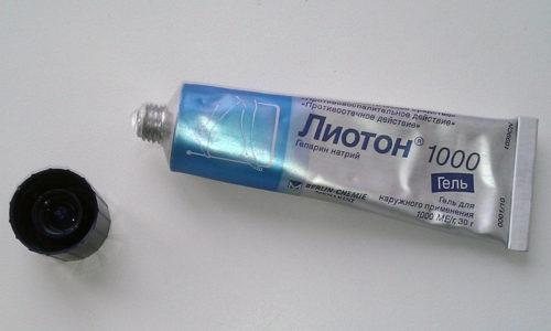 Гель Лиотон при геморрое назначается с целью улучшения микроциркуляции пораженной области