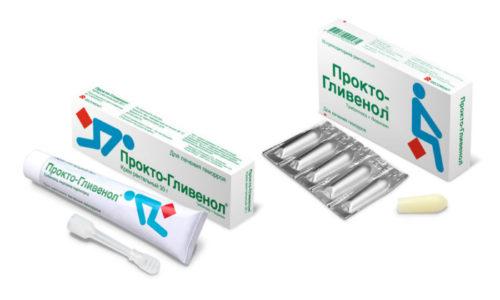 Содержащийся в Прокто-Гливеноле венотоник способствует устранению застоя крови в кавернозных образованиях, повышению венозного тонуса, снижению проницаемости стенок кровеносных сосудов
