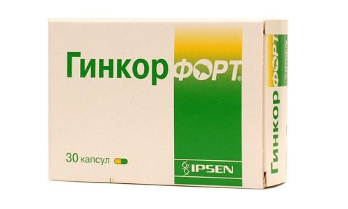 Наиболее популярный препарат на растительной основе - Гинкор Форт используют в лечении геморроя