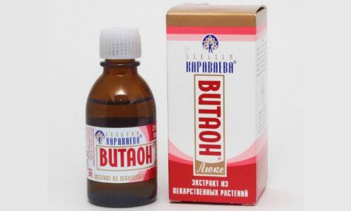 Бальзам Витаон при геморрое пользуется особенной популярностью как у специалистов, так и у пациентов