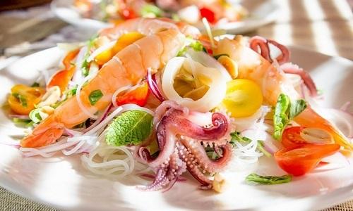 Противораковыми свойствами обладают морепродукты