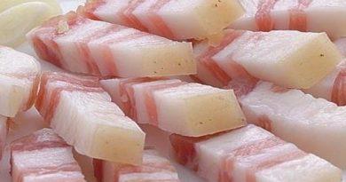Лечение геморроя свиным салом