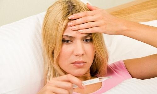 Повышение температуры тела является признаком инфекционного поражения толстой кишки
