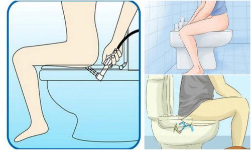Наружный геморроидальный узел обмывают без использования моющих средств. После водной процедуры повреждённый участок нужно промокнуть мягкой тряпочкой