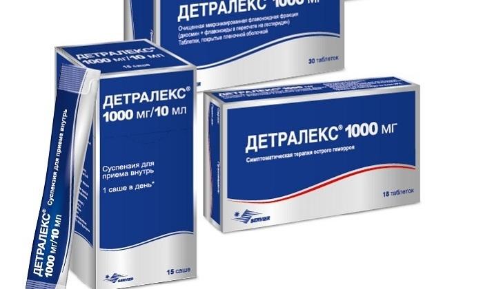 Беременным можно принимать со второго триместра препарат Детралекс