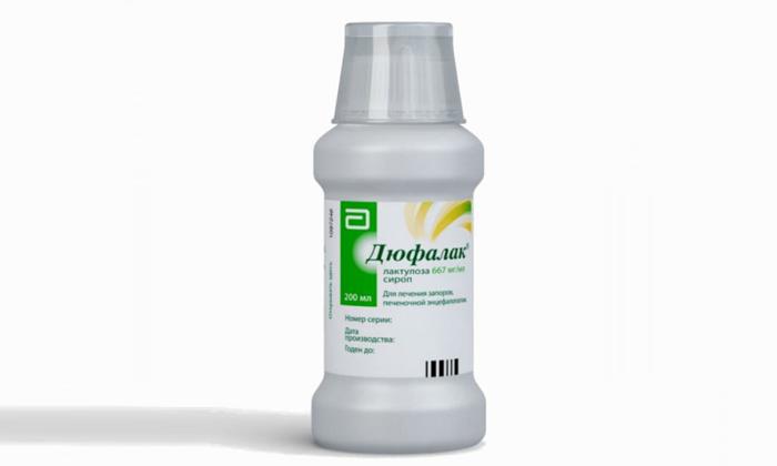Очищение кишечника проводят вечером препаратом Дюфалак