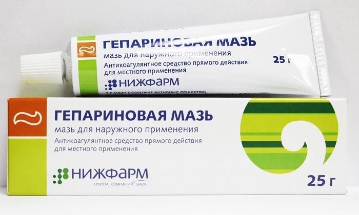 Гепариновая мазь — отзывы о применении коагулянта