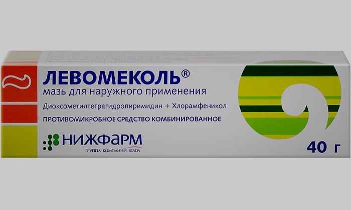 Для лечения геморроя назначают мазь Левомеколь с хлорамфениколем и метилурацилом
