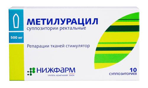 Метилурацил при геморрое – популярное средство локального воздействия, нередко применяемое в комплексной терапии