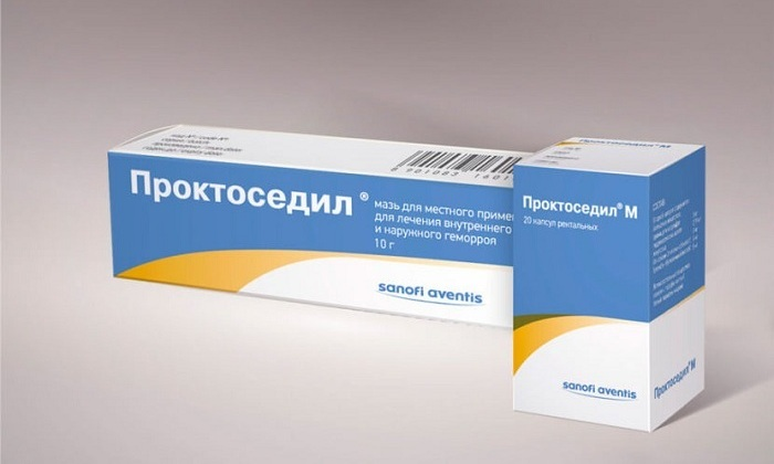 Также можно включать в схему лечения мазь или свечи Проктоседил