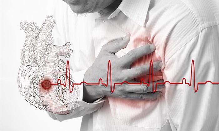 Нельзя применять свечи при тяжёлых заболеваниях сердца