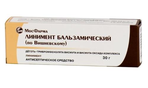 Мазь Вишневского от геморроя продолжает оставаться в списке популярных проктологических препаратов