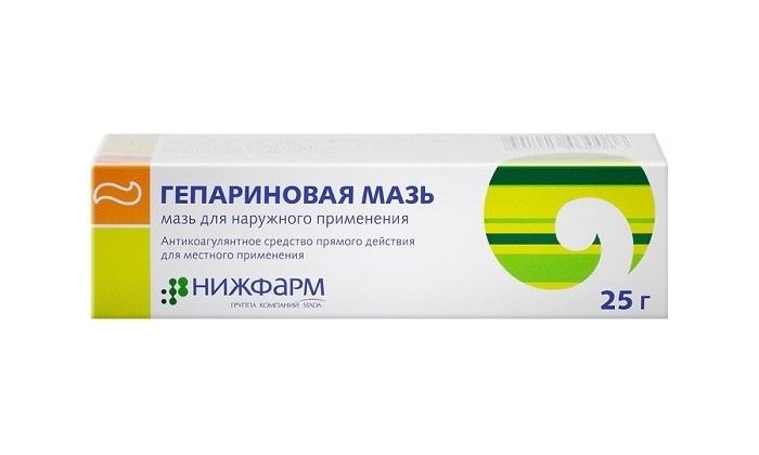Гепариновая мазь наиболее часто используется в лечении геморроя