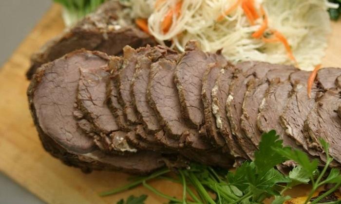 В меню больного можно включать отварное мясо