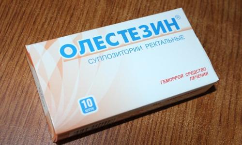 Олестезин поможет вылечить геморрой, но назначаться средство должно врачом-проктологом