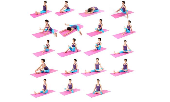 Медики советуют выполнять некоторые упражнения из комплекса йоги при геморрое