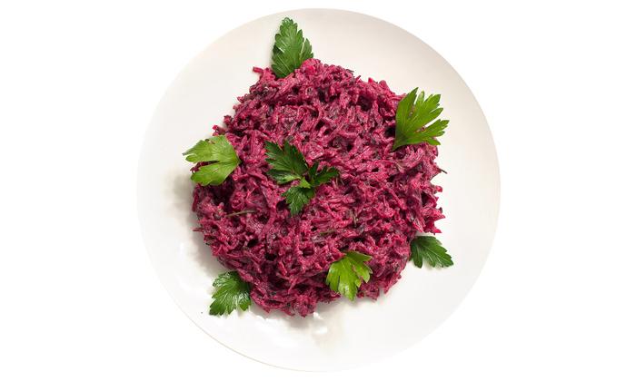 Салат из свеклы употребляйте ежедневно, этопредотвратит запоры