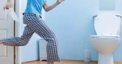 добежать до туалета