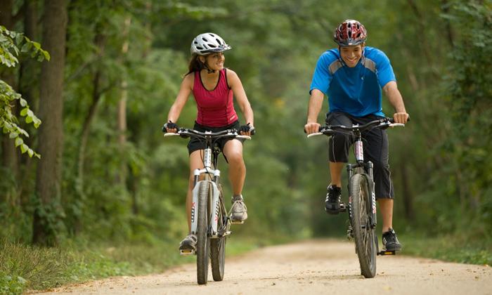 Пациентам рекомендуется исключить езду на велосипеде