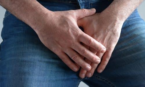 Боль в паху - признак воспалительного процесса на предстательной железе
