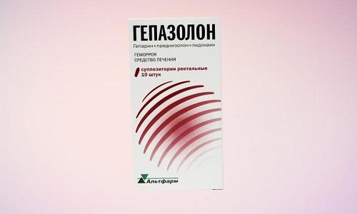 Гепазолон широко применяется на всех стадиях геморроидальной болезни