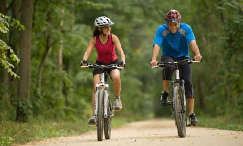 Активно заниматься спортом лучше только при 1 степени аденомы, разрешена езда на велосипеде