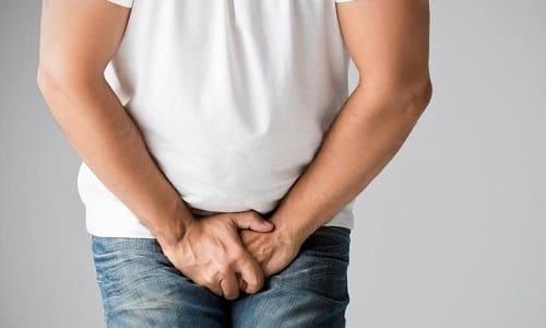 При поражении метастазами лимфоузлов появляется отек в области промежности, полового члена и мошонки