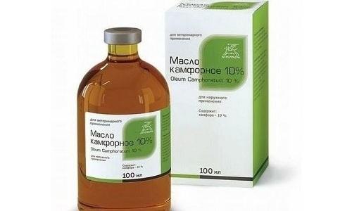 Народная медицина использует камфорное масло при геморрое, так как это вещество обладает противоотечным и противовоспалительными свойствами