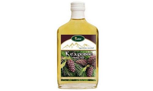 Кедровое масло широко используется народной медициной для лечения различных заболеваний, в том числе и геморроя