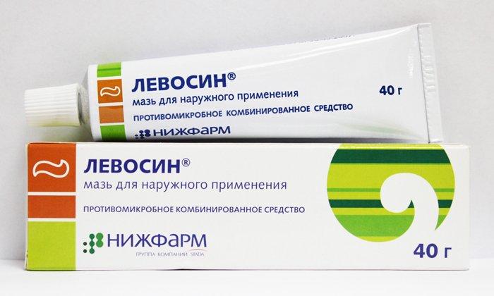 Использование мази Левосин при геморрое