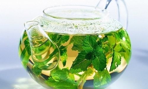 Восстановить работу нервной системы организма поможет употребление мятного чая
