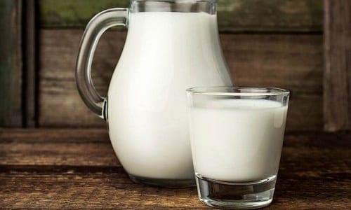 Молоко в сочетании с другими продуктами оказывает лечебный эффект при расстройстве половой функции