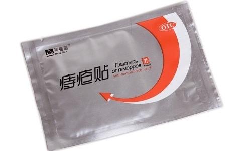 Трансдермальный китайский пластырь можно использовать для устранения симптомов геморроя