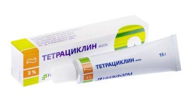 Особенности применения мази Тетрациклин при геморрое