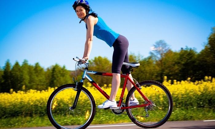 При геморрое нужно отказаться от езды на велосипеде