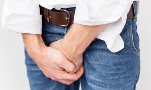 Главным признаком аденомы простаты считаются болевые ощущения