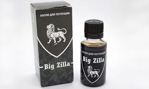 Капли Big Zilla увеличивают длительность полового акта, усиливают оргазм и либидо