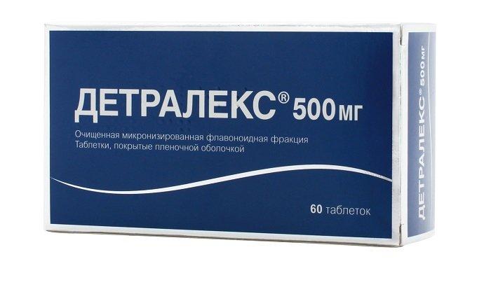Детралекс - венотонический и ангиопротекторный препарат, выпускаемый в таблеточной форме